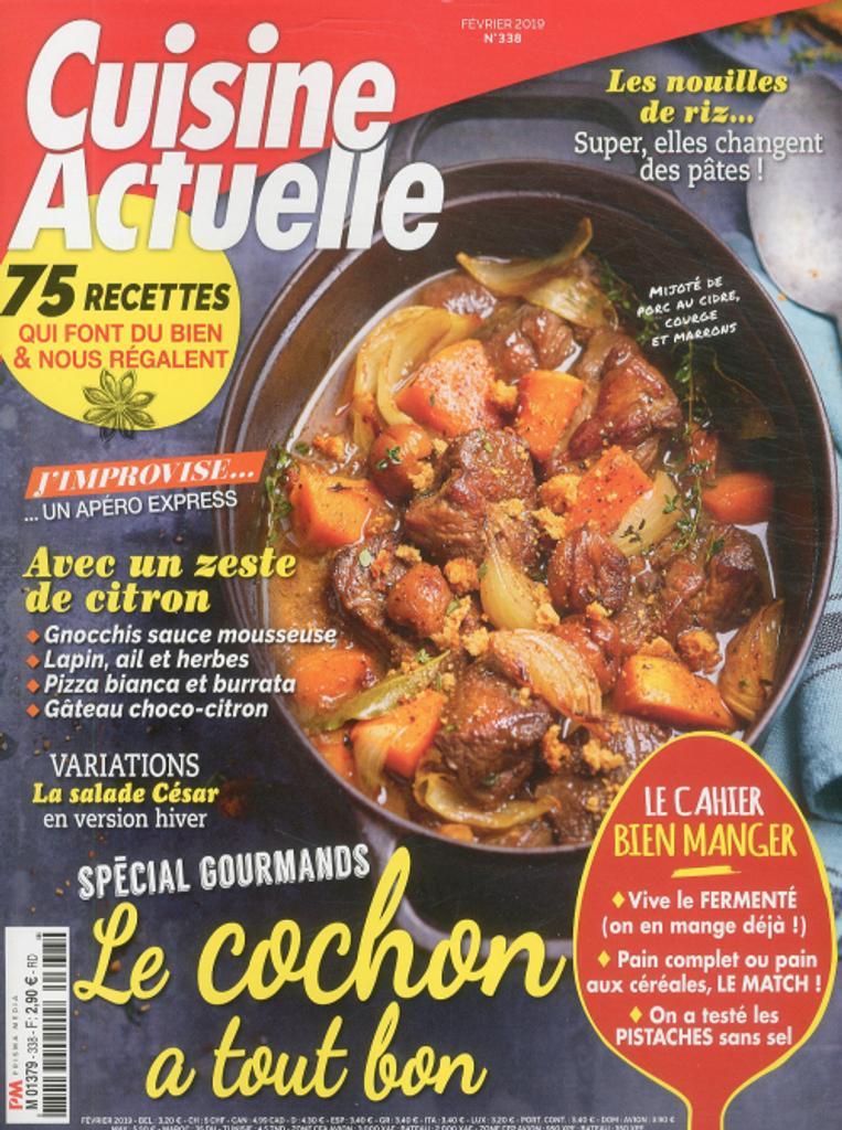 Cuisine actuelle / Monique Chassang, dir. | Chassang, Monique. Directeur de publication