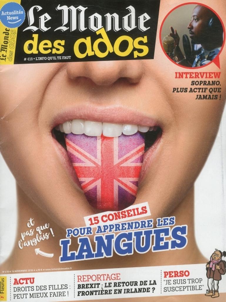 Le monde des ados / Jean-Martial Lefranc  